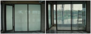 lcd switchable film and glass