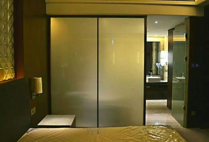 Switchable Glass For Hotel Switchable Pdlc Film Amp Smart