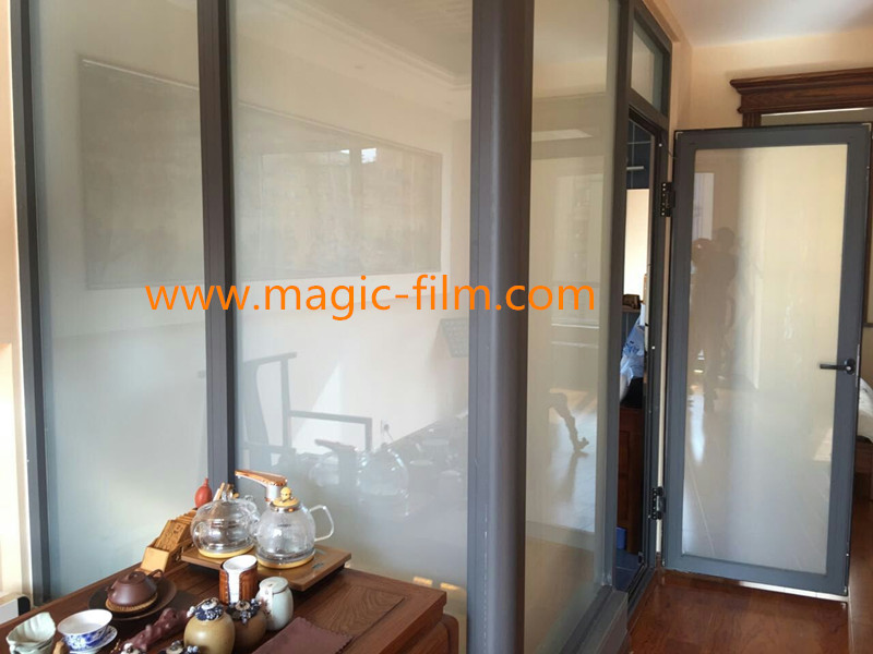 Switchable Glass Shower Switchable Pdlc Film Smart Glass