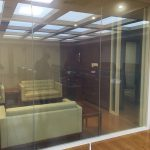 switchable glass power on