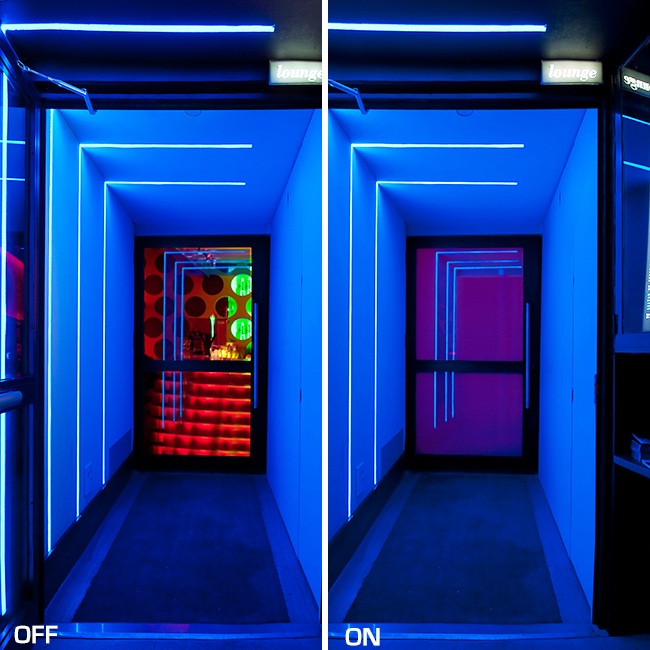 Color Effects Glass   Switchable PDLC Film & Smart Glass