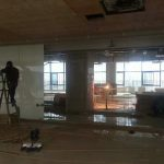 switchable glass installation site