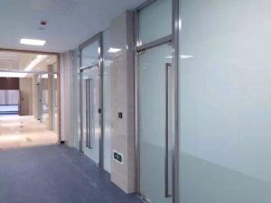 switchable glass door