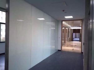 switchable glass partition