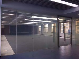 switchable glass wall on