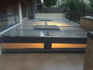 switchable insulated glass roof