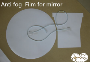 anti fog film shape can be made as request