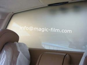 smart film for luxury car partition
