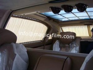 switchable film for luxury car