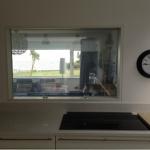 Electrochromic glass for kitchen