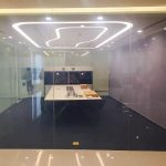 switchable glass wall power on