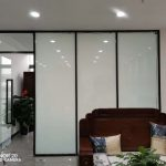electric glass film off